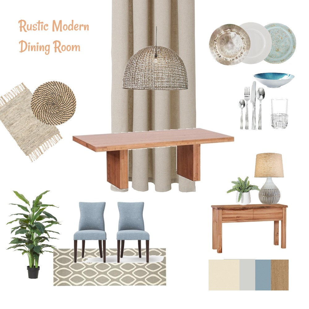 Dining Room Interior Design Mood Board by tahara on Style Sourcebook