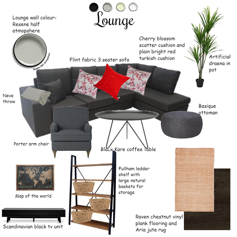 Lounge moodboard Interior Design Mood Board by Sophia28 on Style Sourcebook