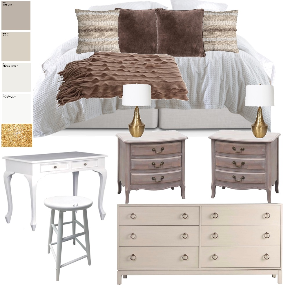 B's Bedroom Interior Design Mood Board by Morrowoconnordesigns on Style Sourcebook