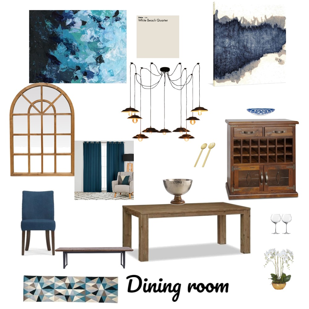 Dining Room (ass 9) Interior Design Mood Board by CheyenneCarmichael on Style Sourcebook