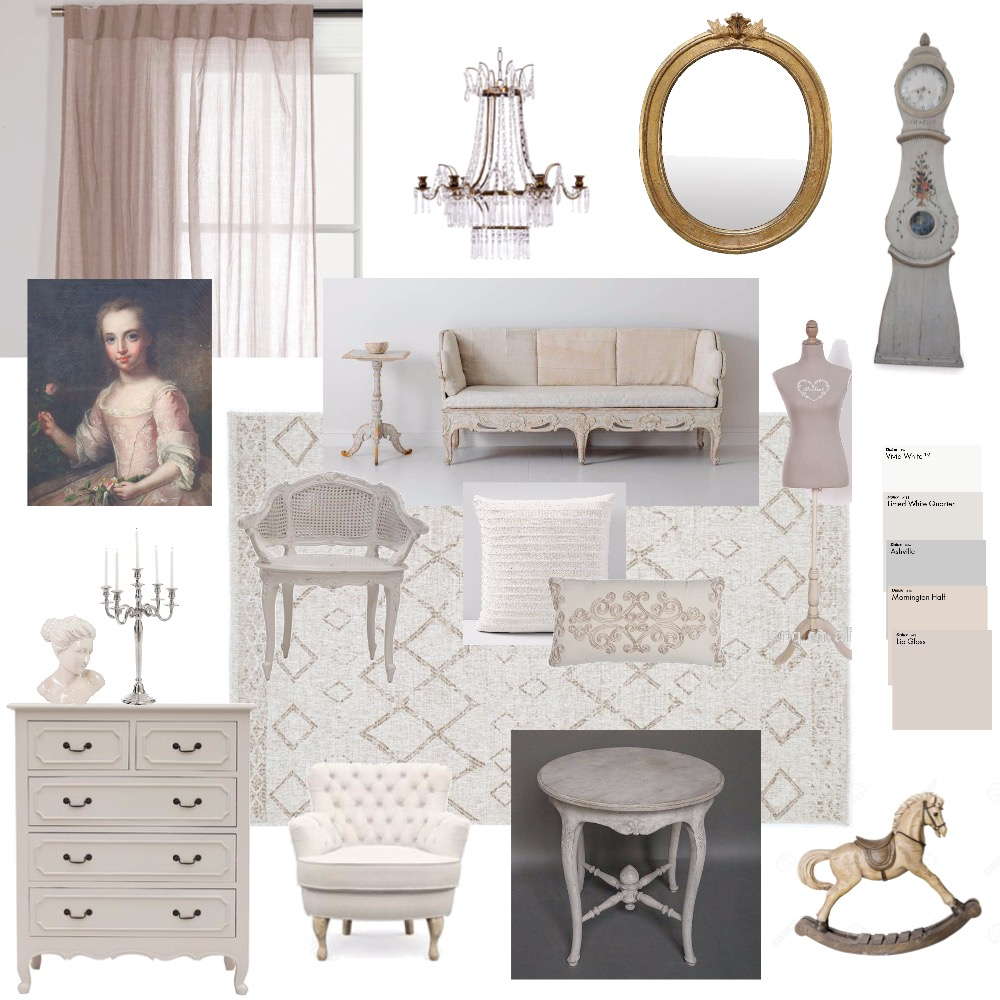 Scandinavian - Swedish Gustavian Interior Design Mood Board by safiyahpatel on Style Sourcebook