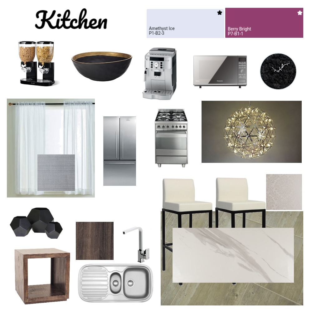 Kitchen Mood Board Interior Design Mood Board by Monique1994 on Style Sourcebook