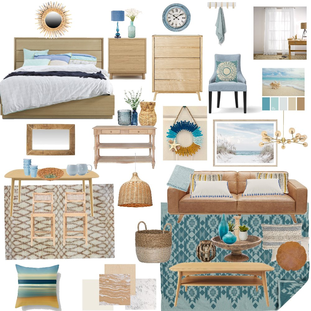 Beach theme Mood board Interior Design Mood Board by ANED on Style Sourcebook