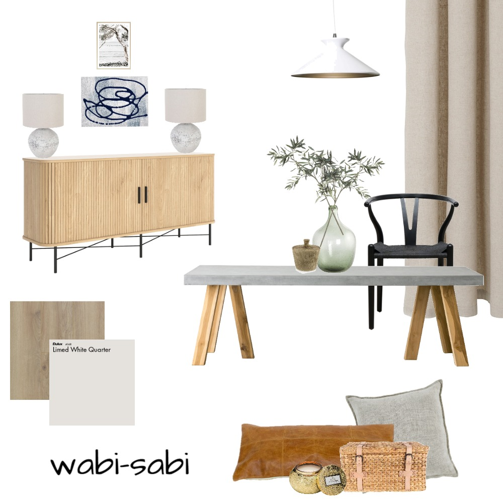 Wabi-Sabi Mood Board Interior Design Mood Board by SabrinaLafreniere on Style Sourcebook