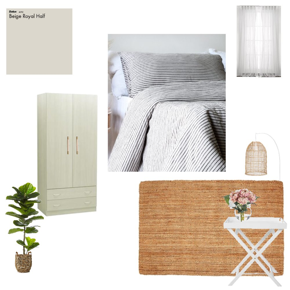 Guest Room Interior Design Mood Board by shell91 on Style Sourcebook