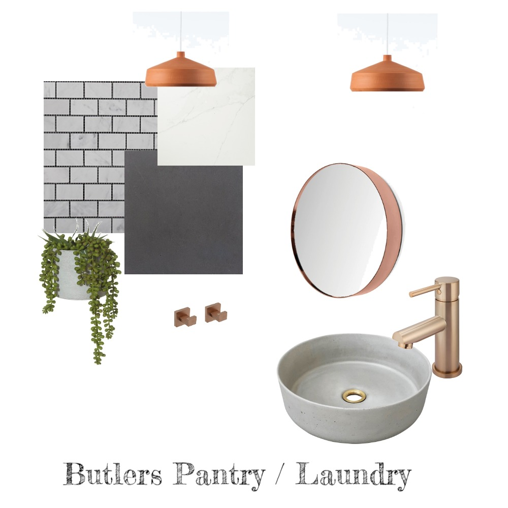 Butlers Pantry / Laundry Interior Design Mood Board by Rikki on Style Sourcebook