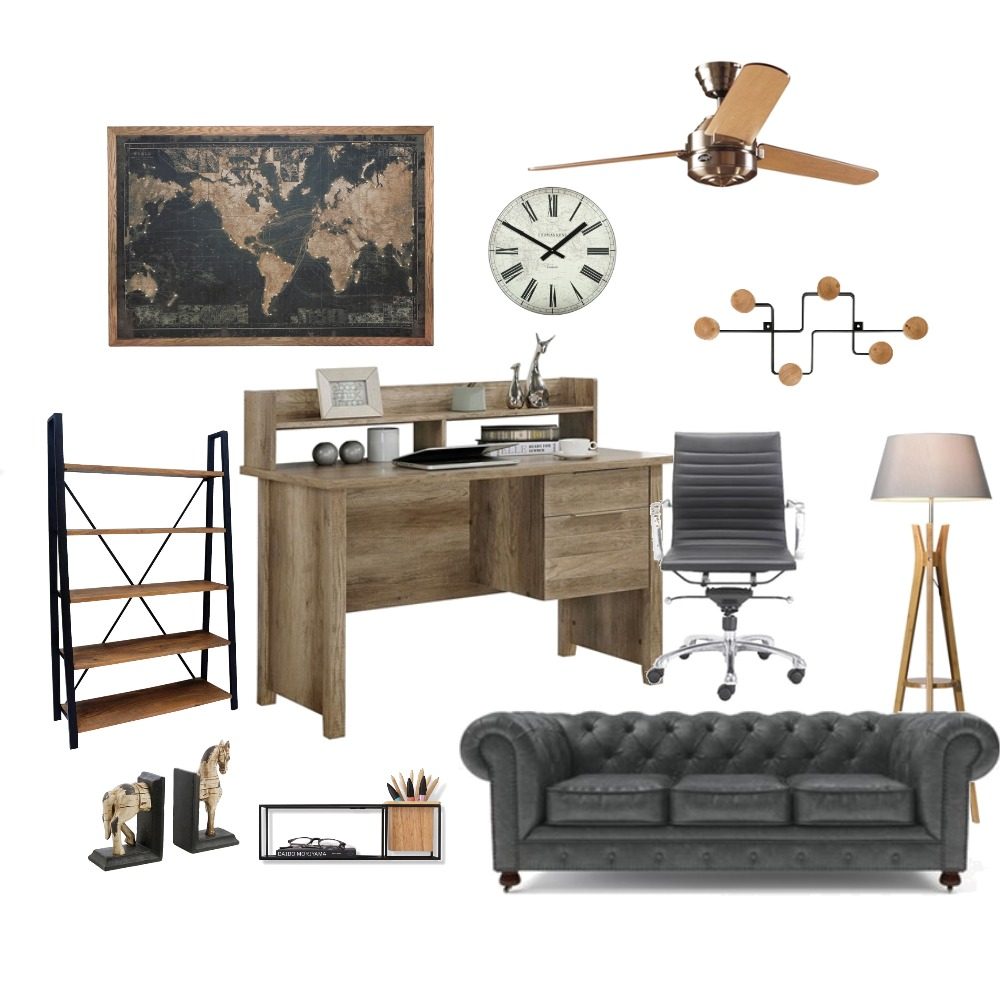 study Interior Design Mood Board by ZIINK on Style Sourcebook