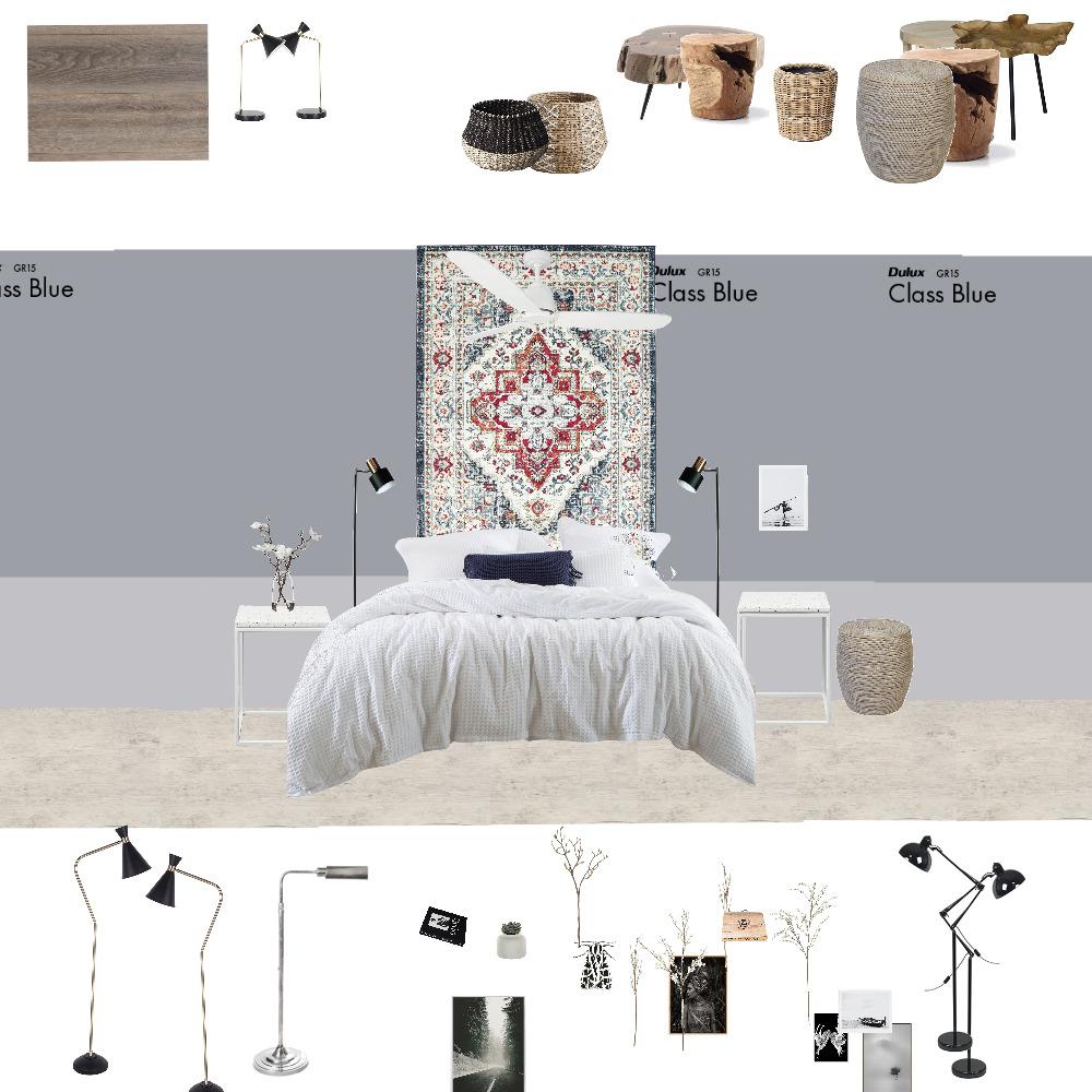minimalistic bedroom Interior Design Mood Board by katiagelfer on Style Sourcebook