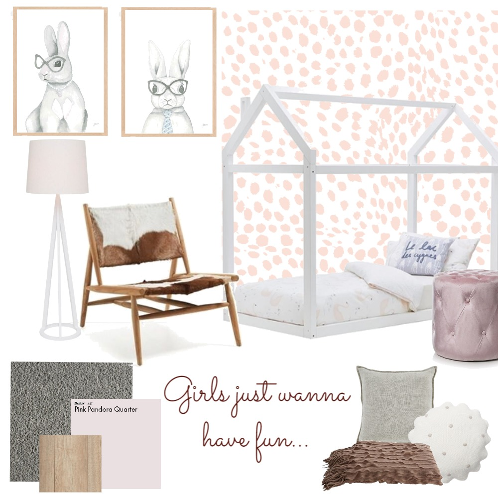 Girls just wanna have fun Mood Board by taketwointeriors on Style Sourcebook