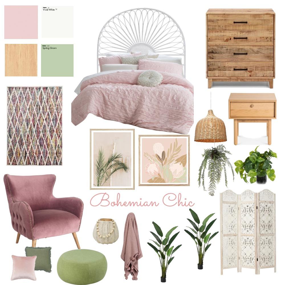Bohemian Interior Design Mood Board by RegineEvans on Style Sourcebook