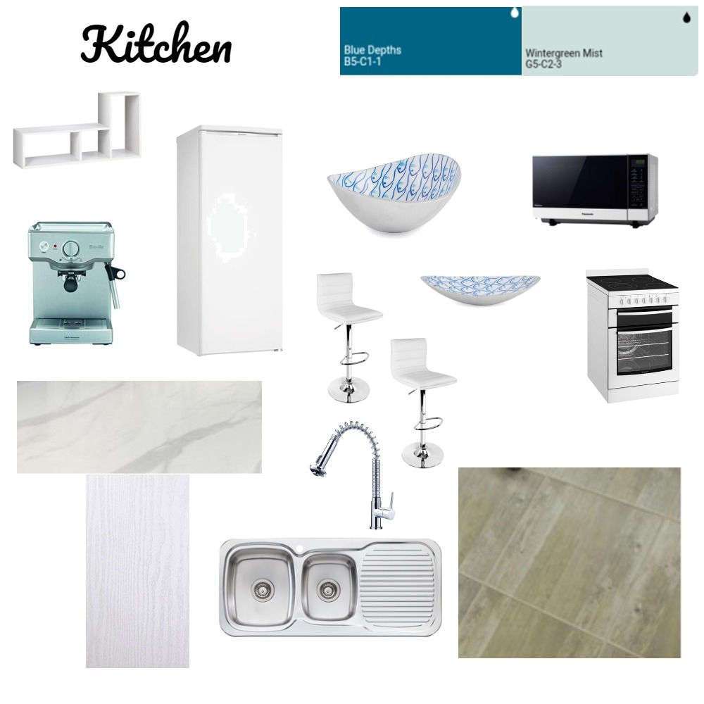 Kitchen Sample Board Interior Design Mood Board by Monique1994 on Style Sourcebook