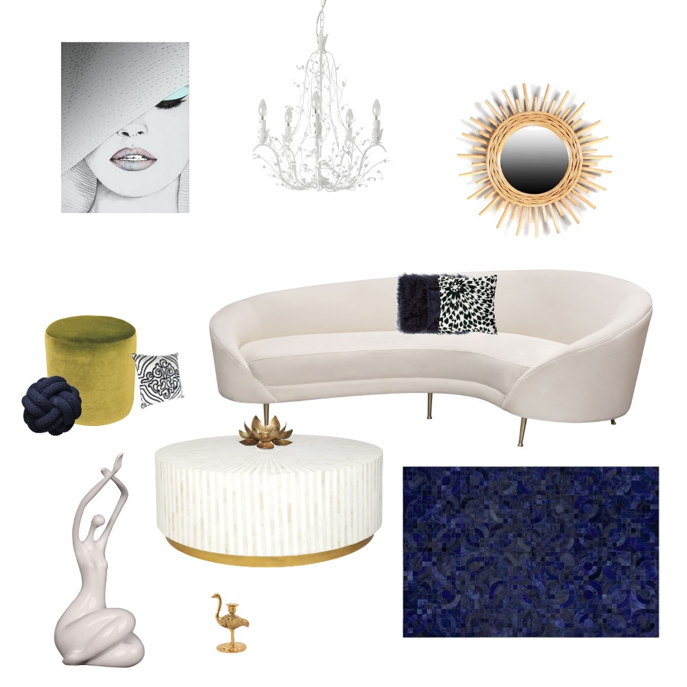 hollywood glam Interior Design Mood Board by lillyglam on Style Sourcebook