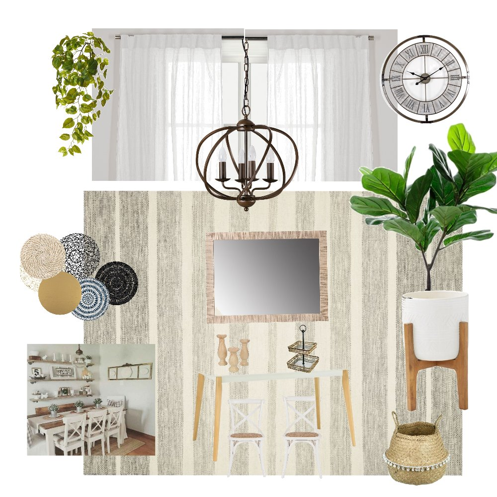 farm house Dining room Interior Design Mood Board by ANED on Style Sourcebook