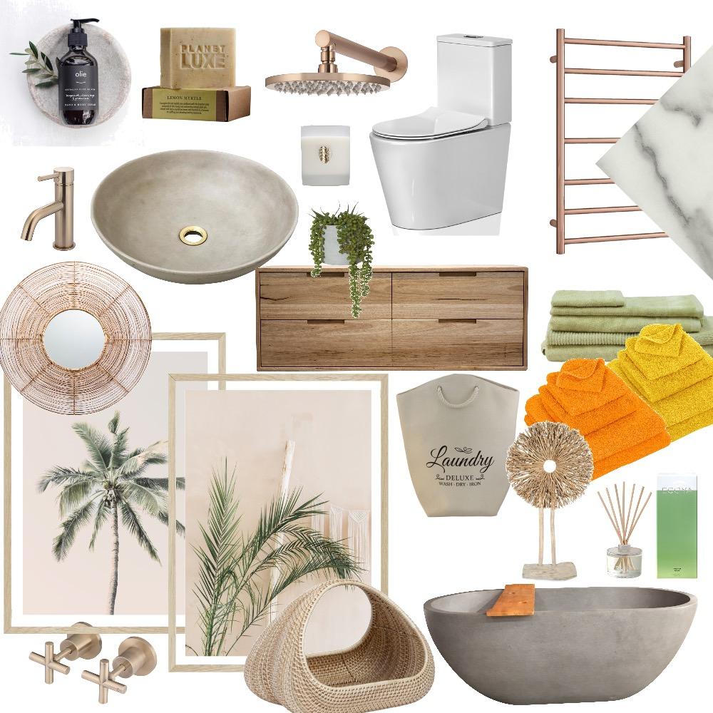 Bathroom Contemporary Interior Design Mood Board by InteriorsBySophie on Style Sourcebook