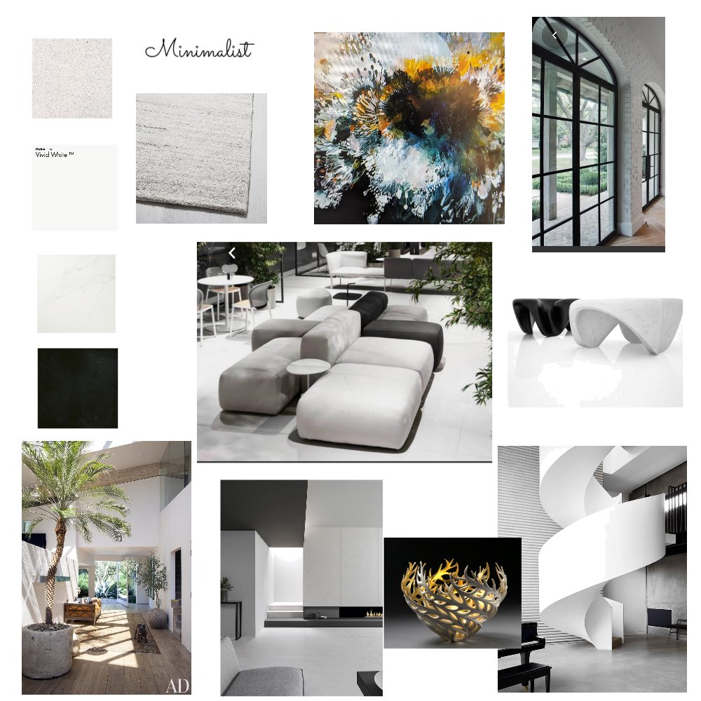 Assignment3 - minimalist Interior Design Mood Board by katerinainteriors on Style Sourcebook
