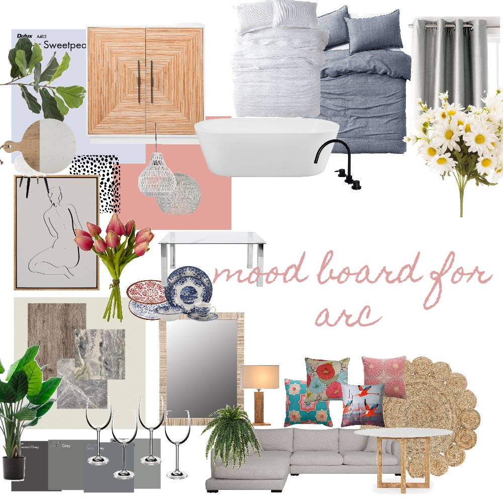 arc mood board Interior Design Mood Board by pbow on Style Sourcebook