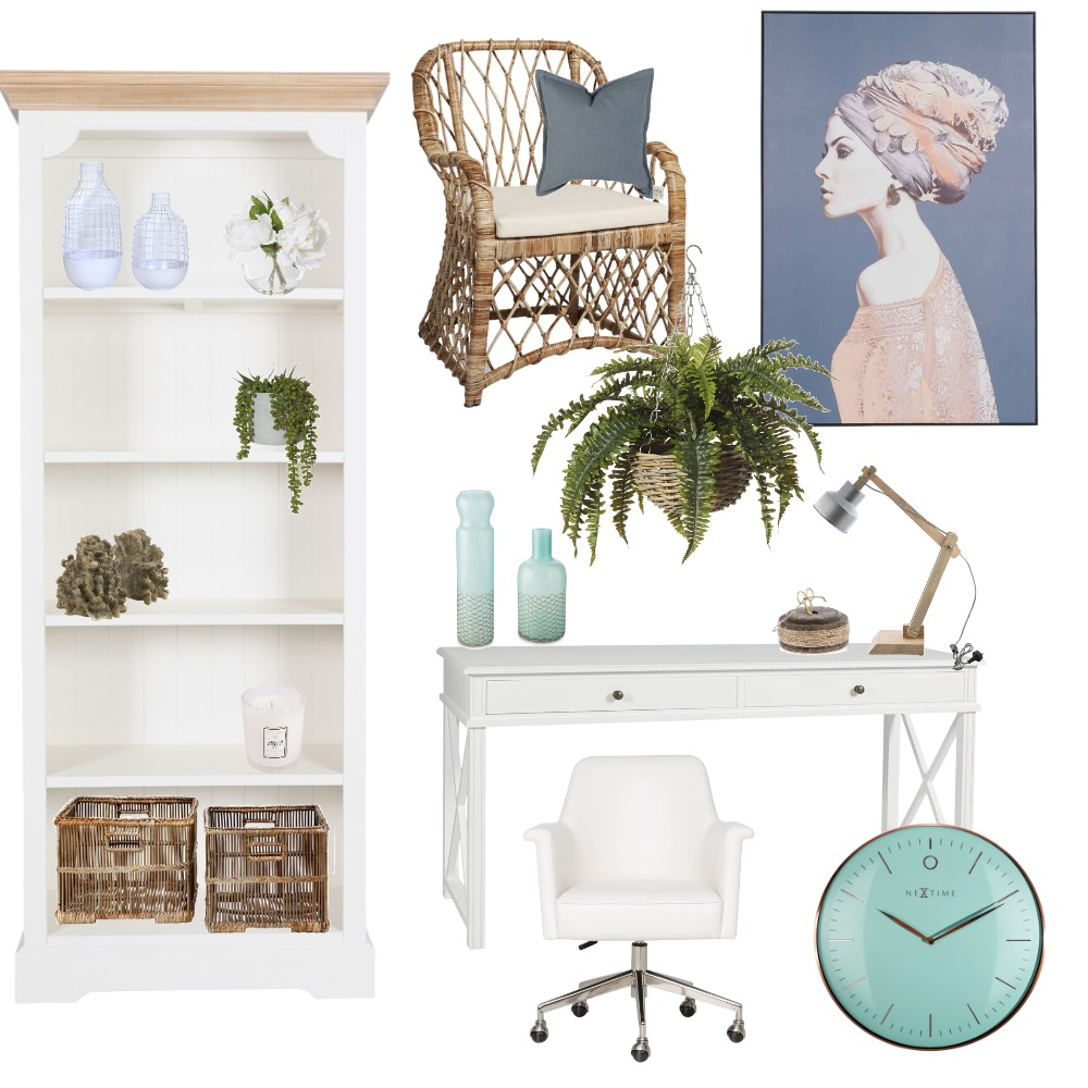 Ange's Home Office Interior Design Mood Board by Valhalla Interiors on Style Sourcebook