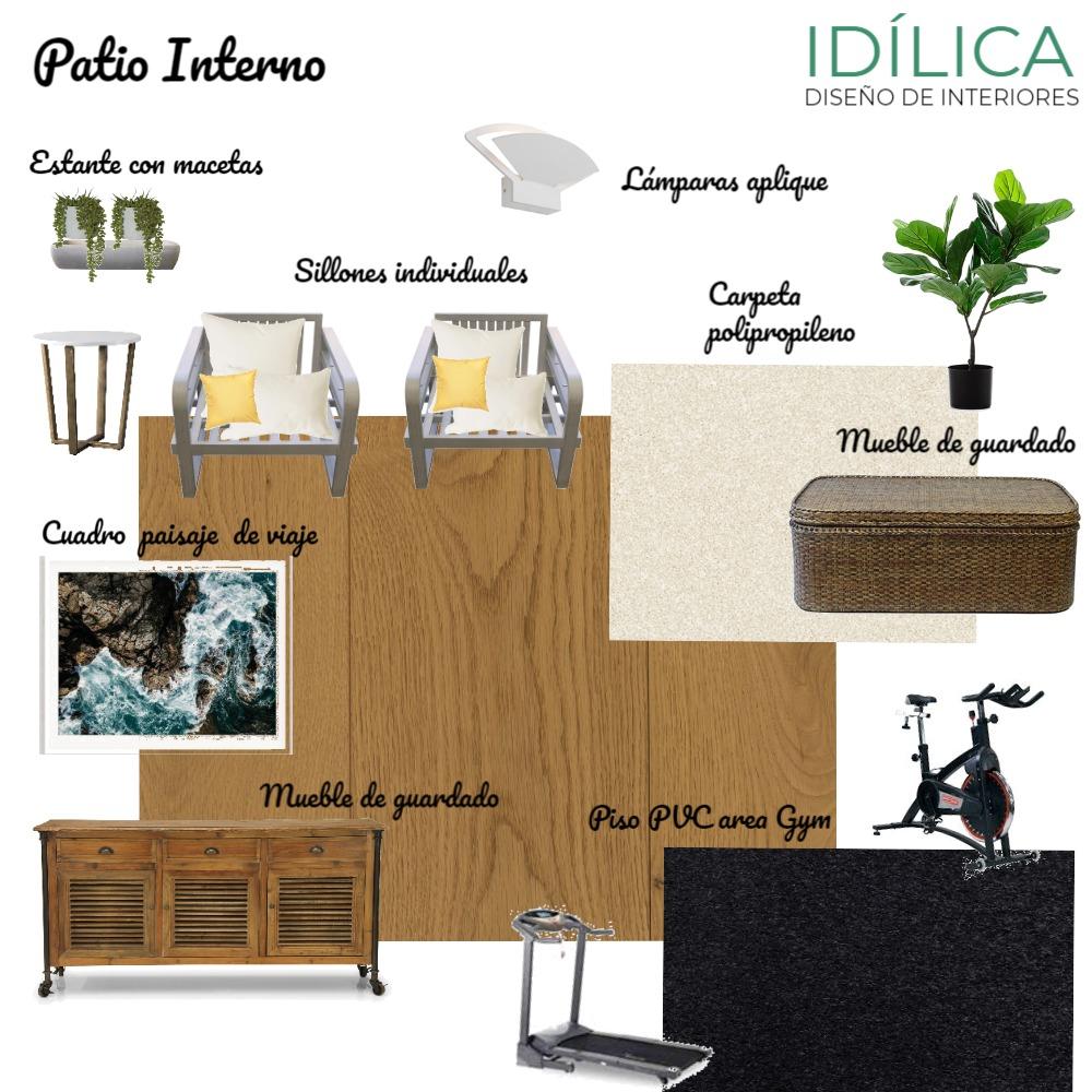 Patio Interno - A2 Interior Design Mood Board by idilica on Style Sourcebook