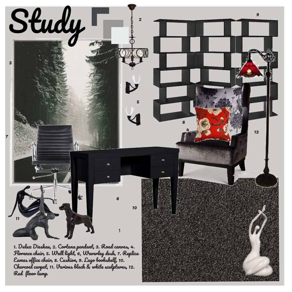 office Interior Design Mood Board by dianeclarke on Style Sourcebook