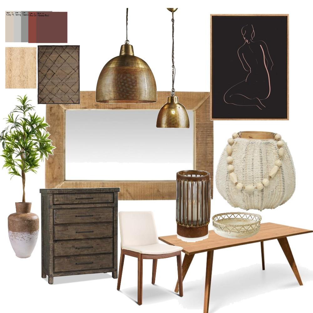 Rustic Interior Design Mood Board by Black Dahlia Interiors on Style Sourcebook