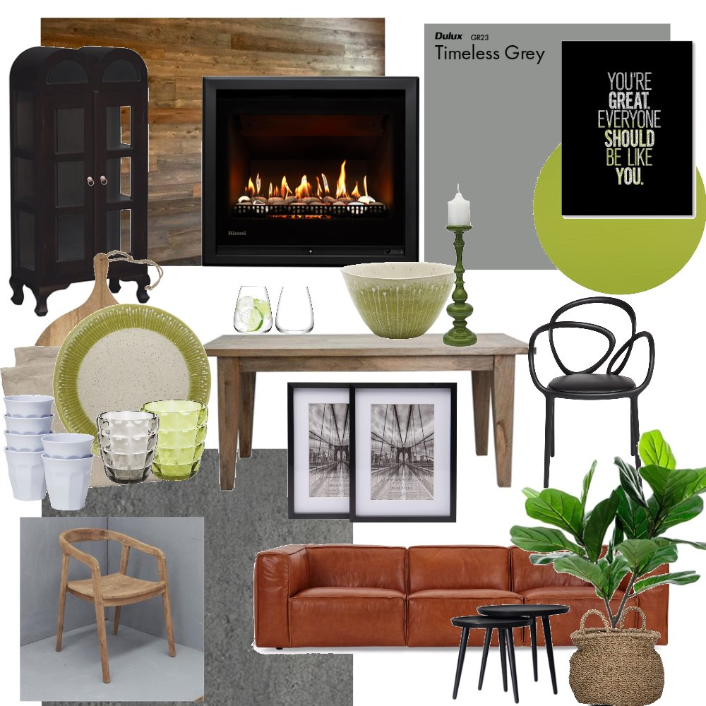 Indoor Braai/Entertainment area Interior Design Mood Board by CJGDesign on Style Sourcebook