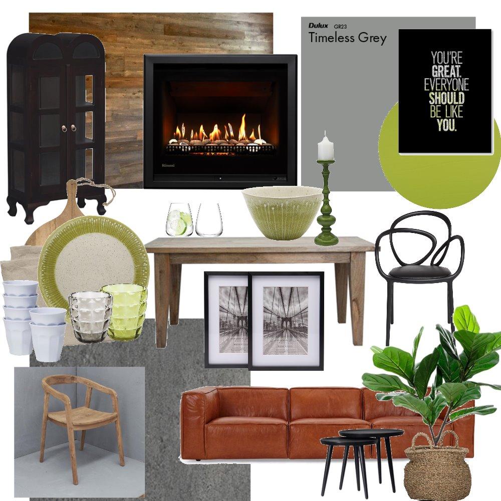 Indoor Braai/Entertainment area Interior Design Mood Board by CJGDesign on Style Sourcebook