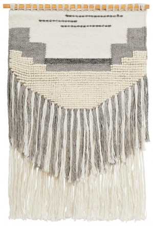 Home 433 Grey Wall Hanging 90x60cm by April & Oak, a Wall Hangings & Decor for sale on Style Sourcebook