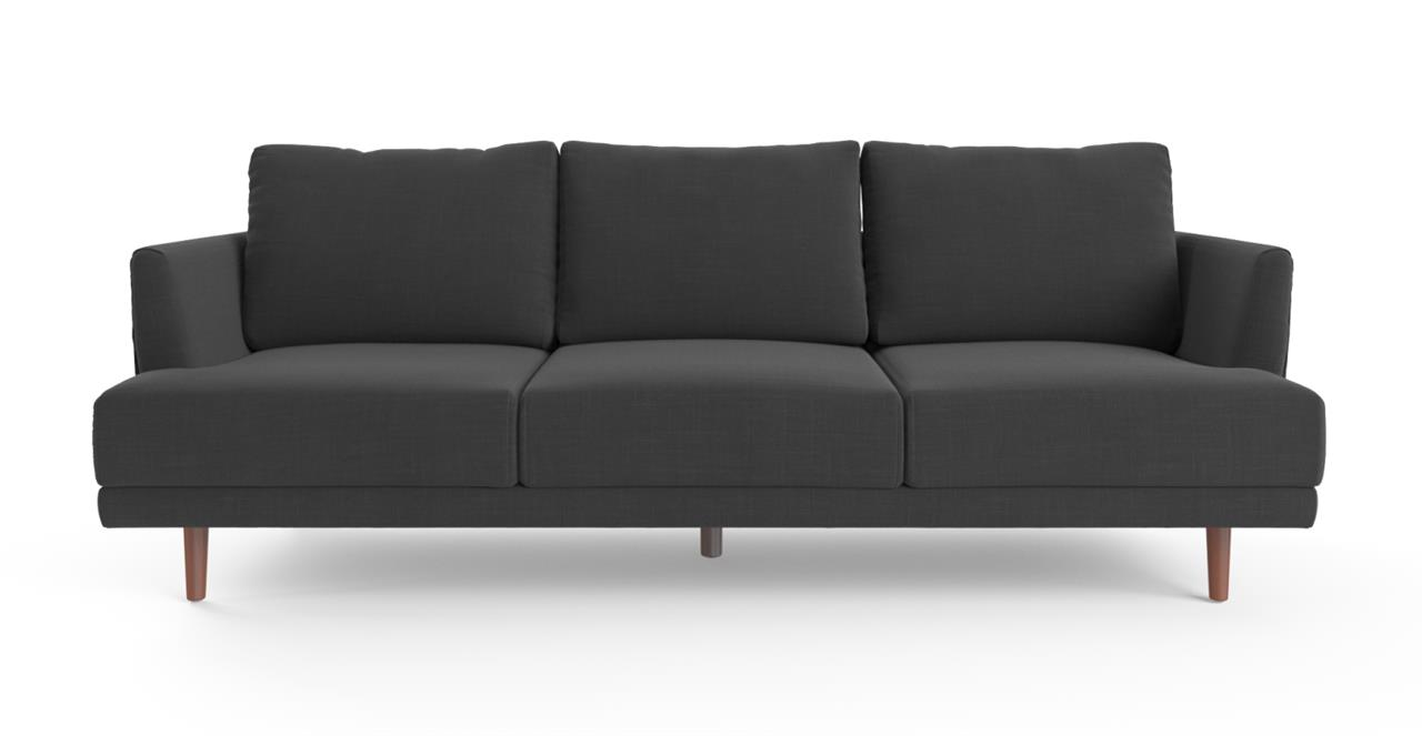 Christoph 3 Seater Sofa Night Black