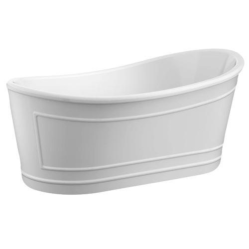 Ritz Acrylic Freestanding Bath Colour: White
