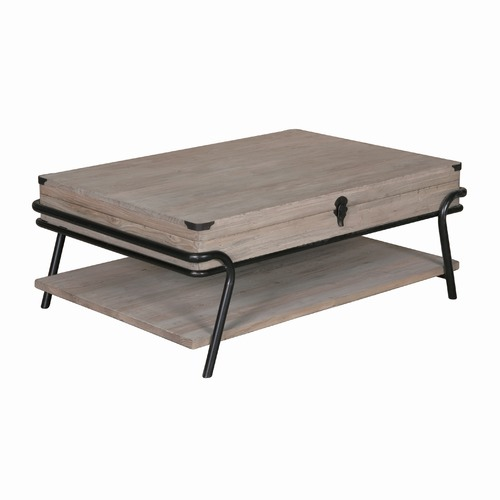 Industrial Storage Coffee Table By Temple Webster Style Sourcebook