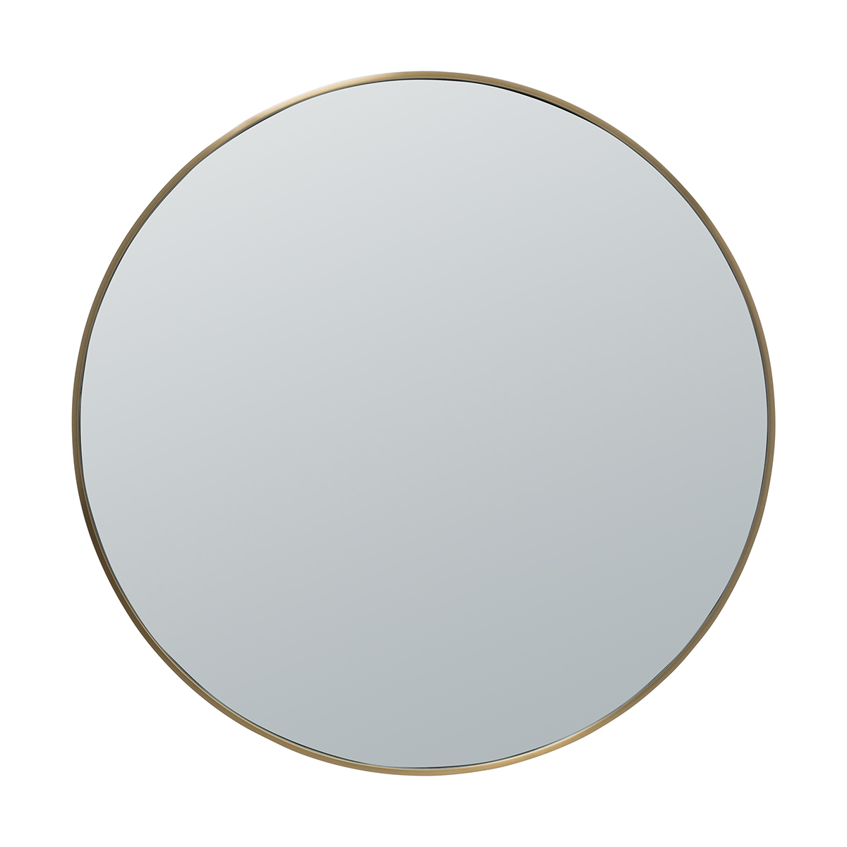 Ben Round Mirror 100cm in Brass by OzDesignFurniture, a Mirrors for sale on Style Sourcebook