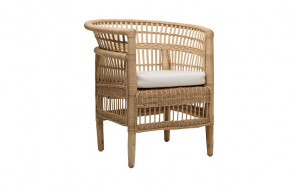 Malla Designer Chair in Natural Rattan by OzDesignFurniture, a Chairs for sale on Style Sourcebook