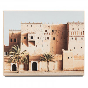 Desert Architecture Box Framed Canvas in natural by OzDesignFurniture, a Prints for sale on Style Sourcebook