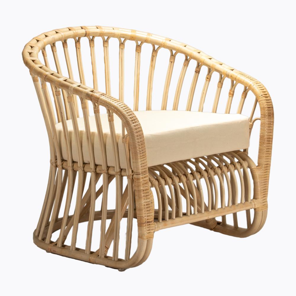 Maui Armchair Natural by Room & Co