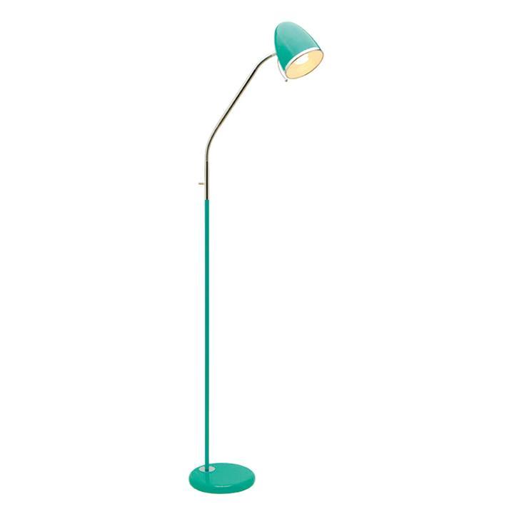 Sara Metal Floor Lamp, Green