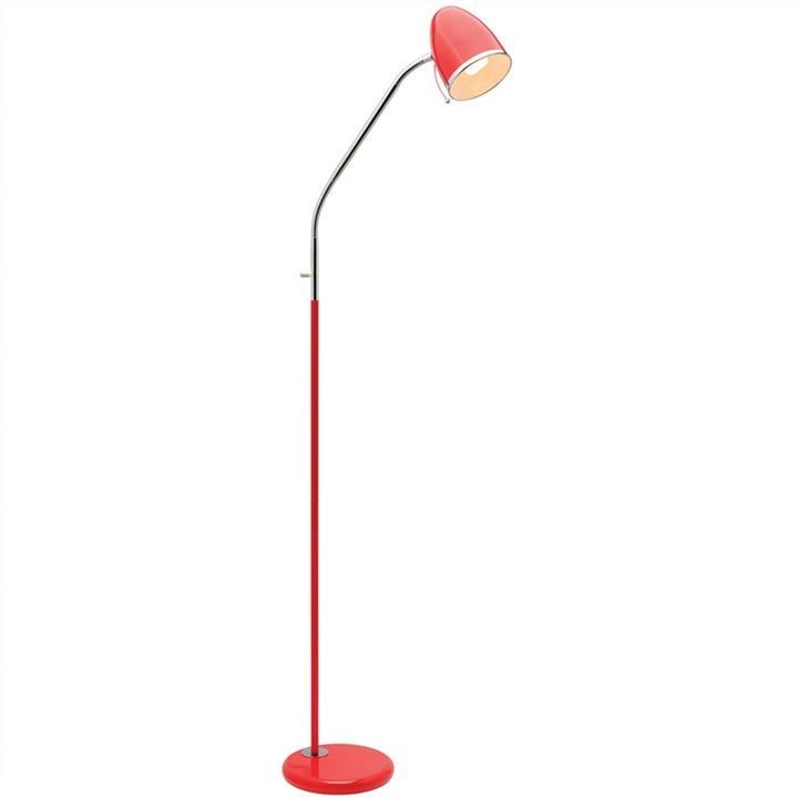 Sara Metal Floor Lamp, Red