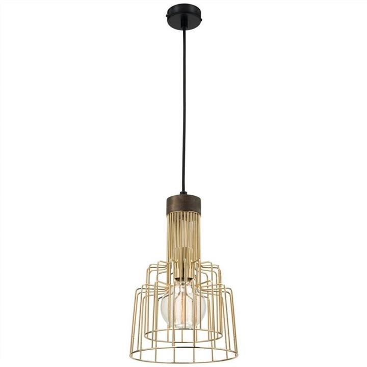Gina Metal Pendant Light, Brass