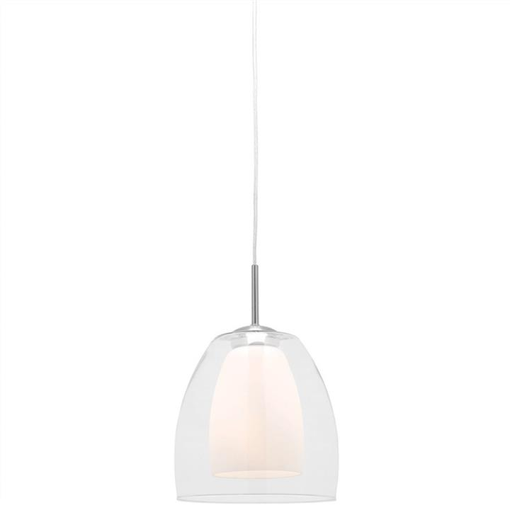 Aries 1 Light Glass Pendant Light, Large