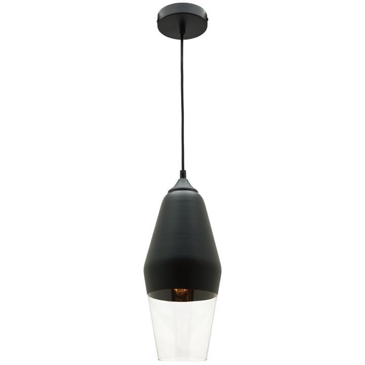 Medi Metal and Glass Pendant Light