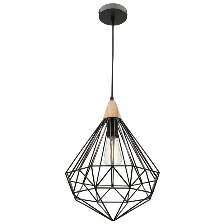 Raglan Metal Wire Pendant Light
