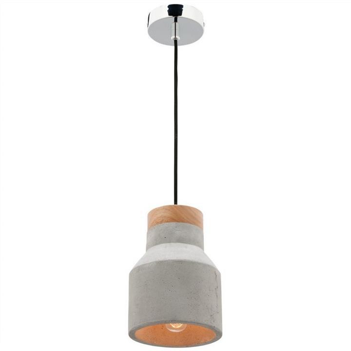 Moby Concrete Pendant Light, Small