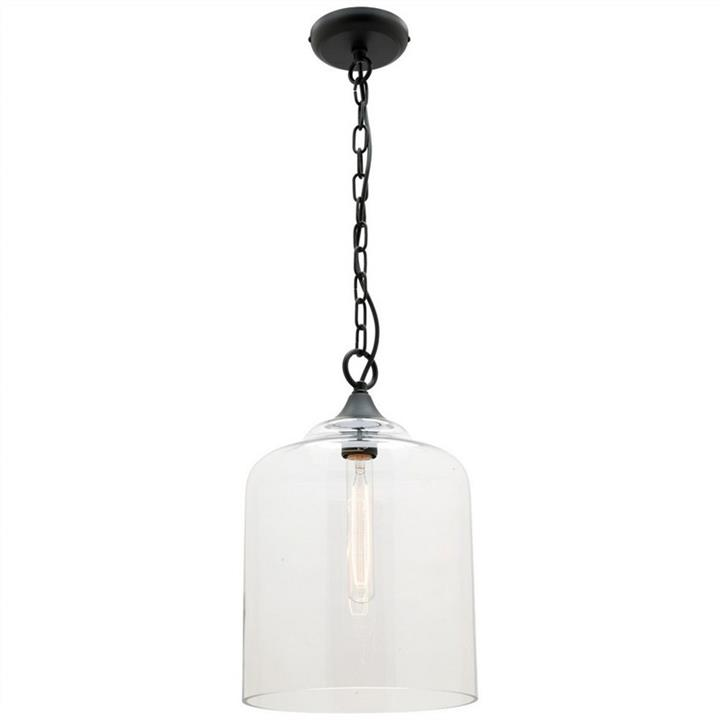 Hampton Glass Shade Pendant Light, Small