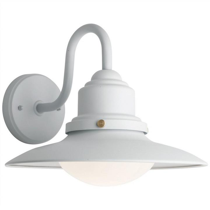 Eve IP44 Exterior Wall Light, White