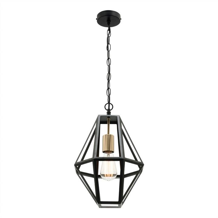Prisma Metal Pendant Light, Small