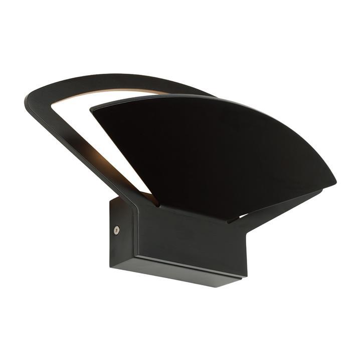 Fiesta LED Wall Light, 12W, Black