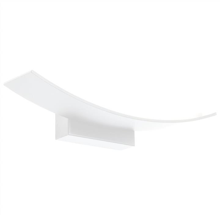 Larz LED Wall Light, 12W, White