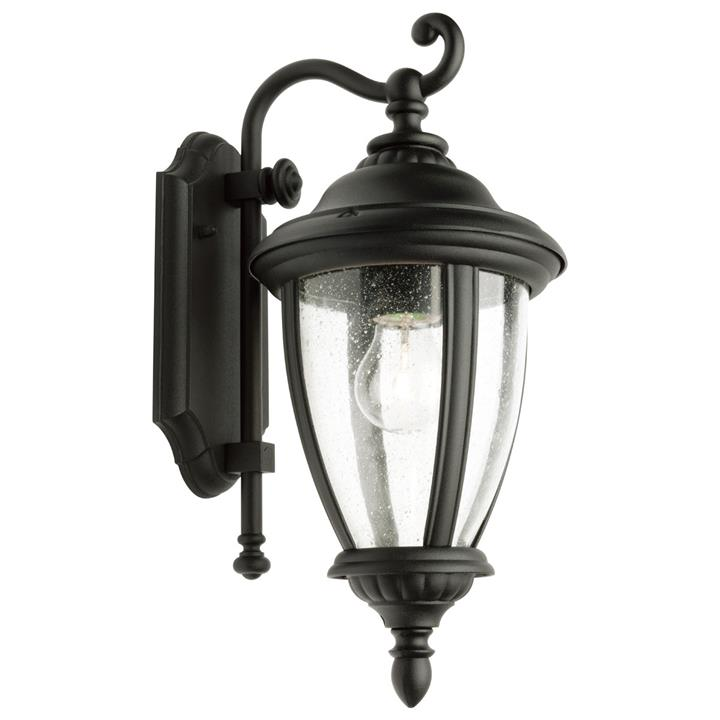 Oxford IP43 Exterior Wall Lantern, Black