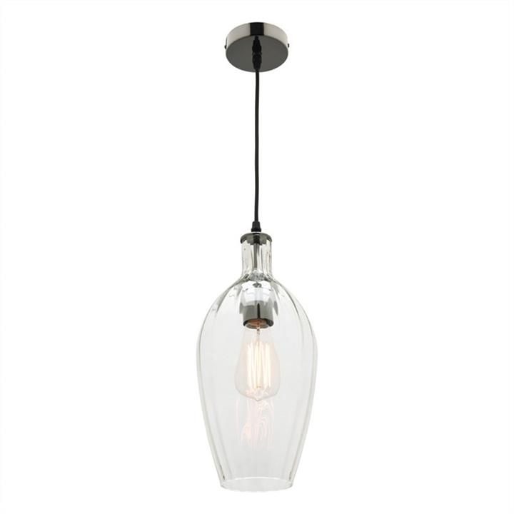 Belmont Glass Shade Pendant Light, Clear