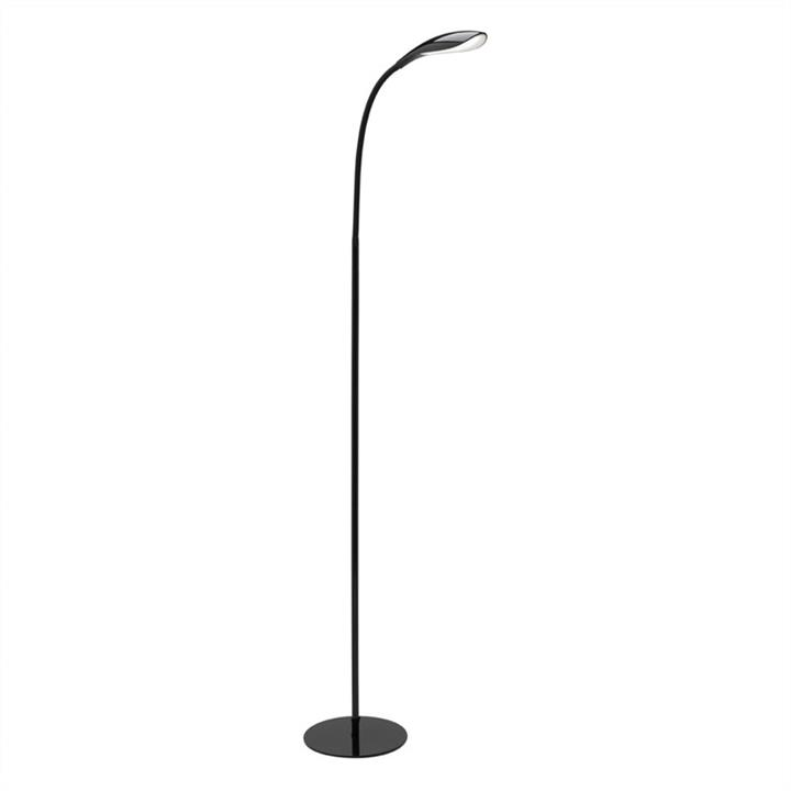 Lennox LED Floor Lamp, Black