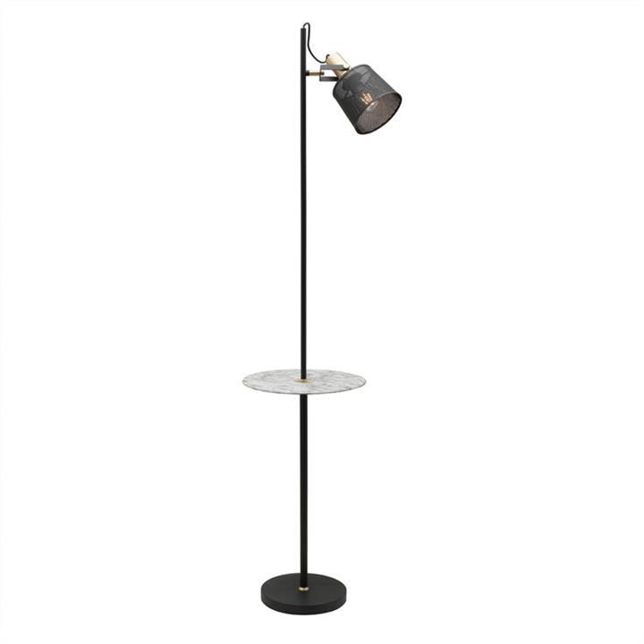 Arizona 1 Light Metal Floor Lamp with Table